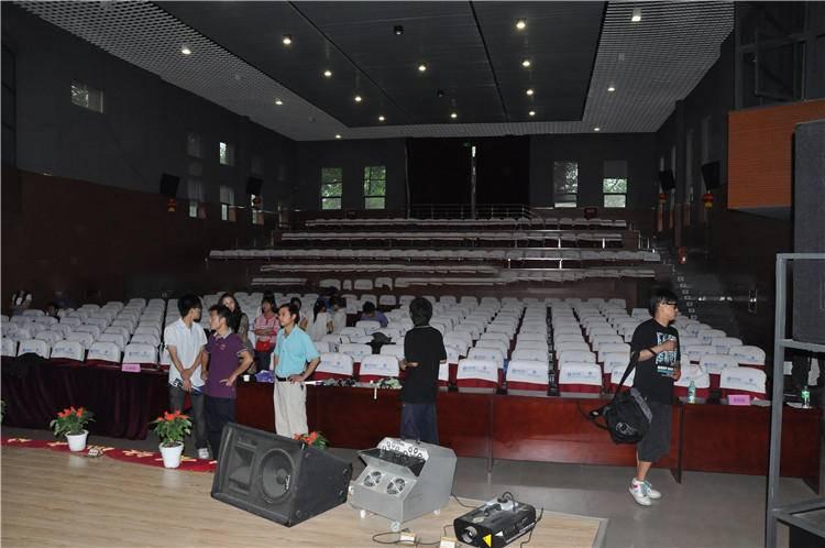 校果-成都纺织高等专科学校学生活动中心场租借