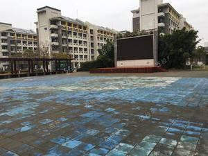 学校广场 上海海洋大学-军工路校区