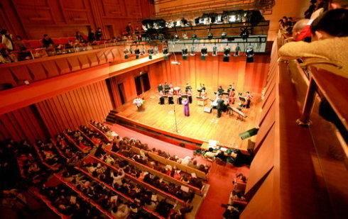 校果-上海音乐学院贺绿汀音乐厅场地租借