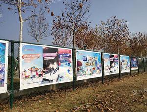 运动场围栏 武汉理工大学-南湖校区 校园广告投放