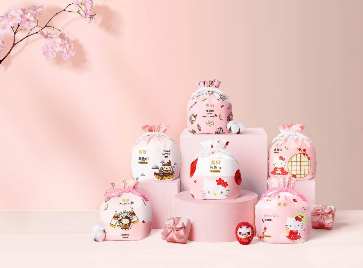 美则联名Hello Kitty!产品品质赋能品牌未来