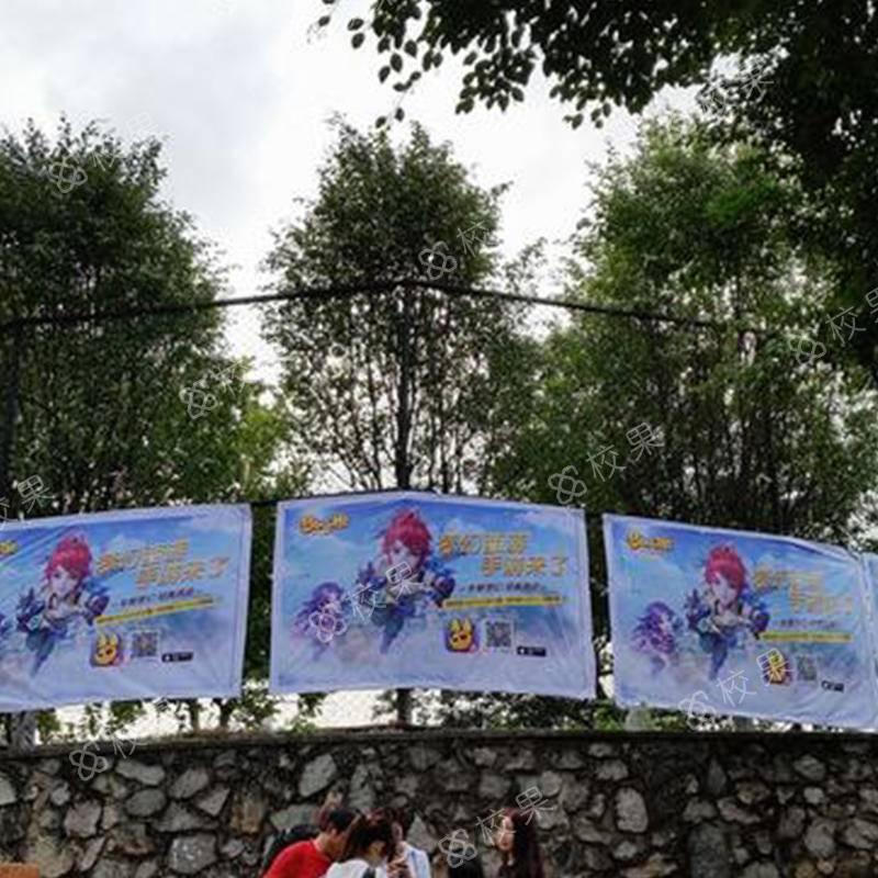 校果-北京第二外国语运动场围栏