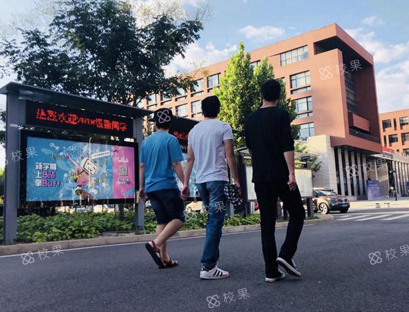 灯箱广告 华南师范大学