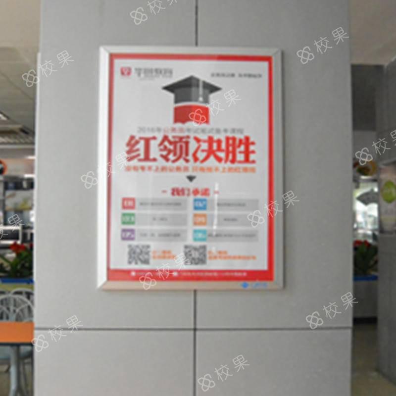 校果-云南省旅游学校框架广告