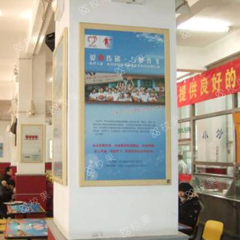 校果-广东工业大学(动物园南门)校园框架广告位