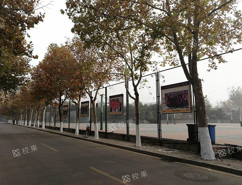 运动场围栏 武汉理工大学-马房山校区